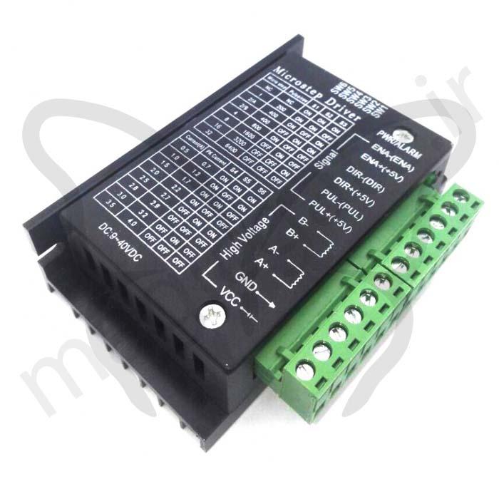درایور میکرواستپ TB6600 قابدار ۴A