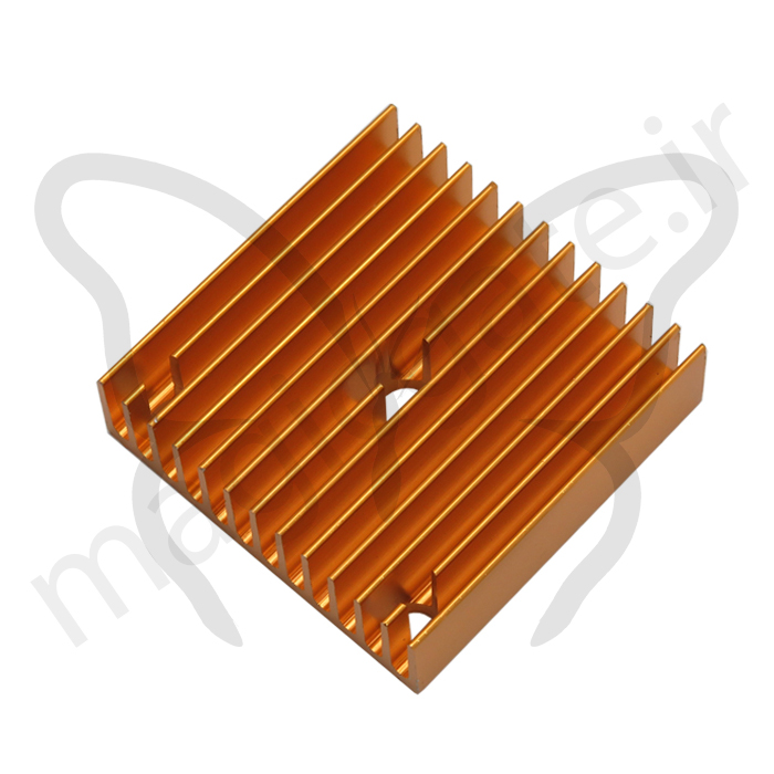 هیت سینک اکسترودر پرینتر سه بعدی دارای ابعاد ۴۰mm x 40mm