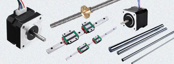 قظغات پرینتر سه بعدی و CNC
